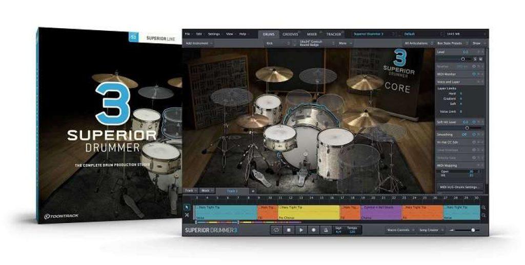 Superior Drummer logiciel