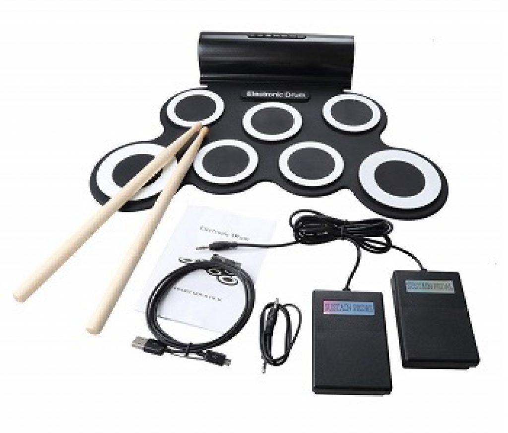 Batterie électronique pliable CoastaCloud Roll Up Drum